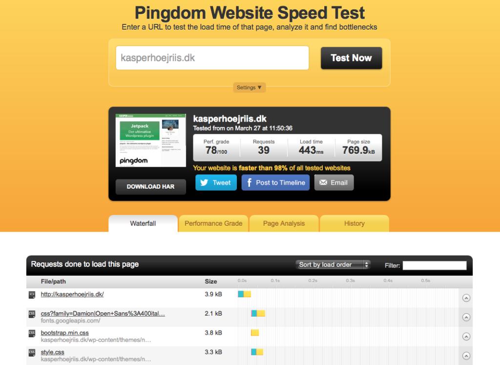Pingdom Tools - Nu med server i Stockholm